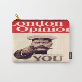 Vintage poster - Your Country Needs You Carry-All Pouch