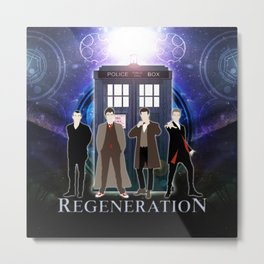 Regeneration Of The Doctor Metal Print