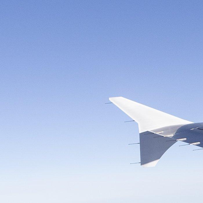 Heavenly Blue Skies Flying Leggings