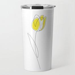 Spring Tulips Travel Mug
