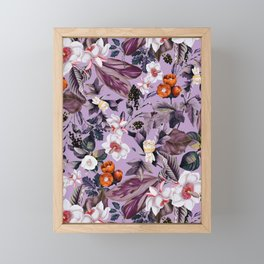 Crocus Petal Framed Mini Art Print