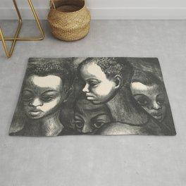 African American Art Rug