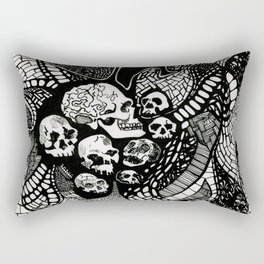 Skullify Meh Rectangular Pillow