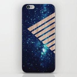 Galaxy Wood  iPhone Skin