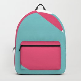 Geometric Abstract Backpack