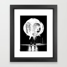 asc 265 - L'alpha et l'oméga (12/21 Everything that has a beginning as an end) Framed Art Print