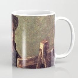 Self-Portrait with Dark Felt Hat at the Easel by Vincent van Gogh Coffee Mug