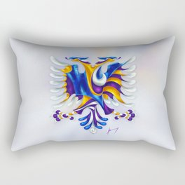 Kosovar (Albanian) Eagle Rectangular Pillow