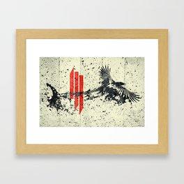 s k r i l l e x Framed Art Print
