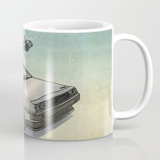 Stormtrooper in a DeLorean - waiting for the car club Mug