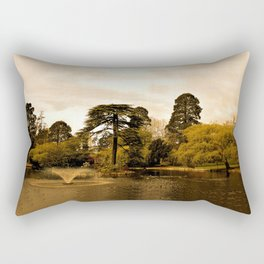 In The Park Again Rectangular Pillow