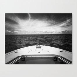 Drop Anchor B&W Canvas Print