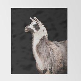 LAMA ( LLAMA) Throw Blanket