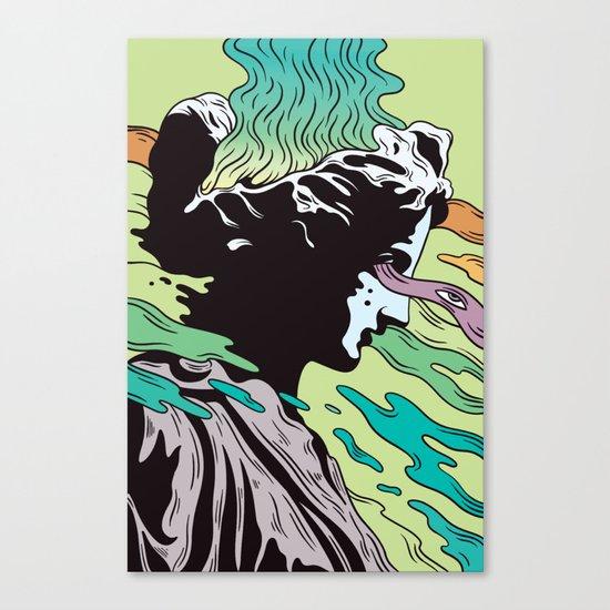 Greek Profil Canvas Print