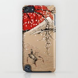 Japan Fishermen iPhone Case