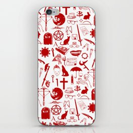 Buffy Symbology, Red iPhone Skin