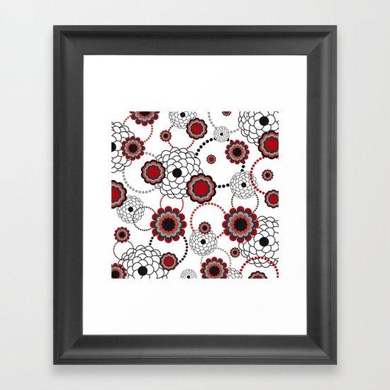 Flowers For My Sweetheart. Framed Art Print