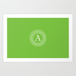 The Circle of A Art Print