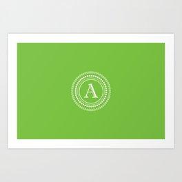 The Circle of A Art Print