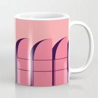bauhaus Mugs featuring Bauhaus Archiv by bloooom
