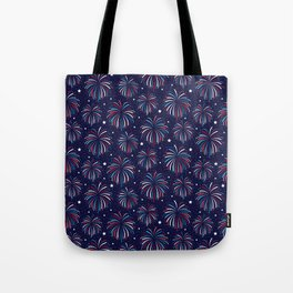Star Spangled Night Tote Bag