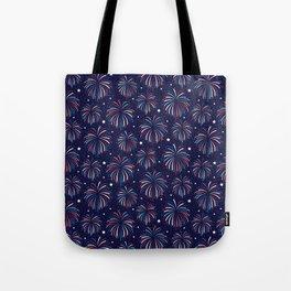 Star Spangled Night Tote Bag
