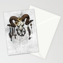Bestial Crowns: The Ram Stationery Cards