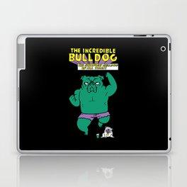 The Incredible English Bulldog Laptop & iPad Skin