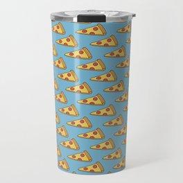 Doodle Pizza Lover Pattern Travel Mug