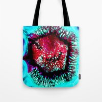 pop art Tote Bags featuring pop by haroulita