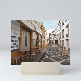 Ponta Delgada, Azores Mini Art Print
