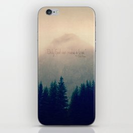 Only God Can Make a Tree iPhone Skin