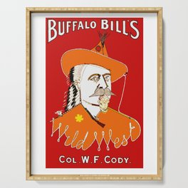 Buffalo Bill Cody's Wild West Show Serving Tray
