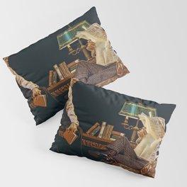 Joseph Christian Leyendecker - Newspaper - Digital Remastered Edition Pillow Sham
