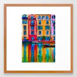 Portofino Paradise Framed Art Print