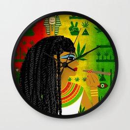 Cleopotra Reggae #1 Wall Clock