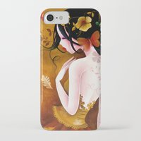 copper iPhone & iPod Cases featuring Copper by Sybile Art