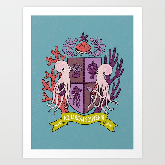 The Royal Aquarium Souvenir Shop Art Print