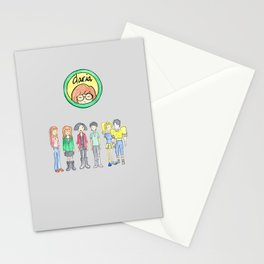 Daria and Friends Stationery Cards