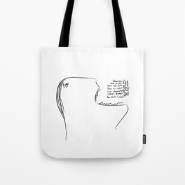 Eat a Song Tote Bag
