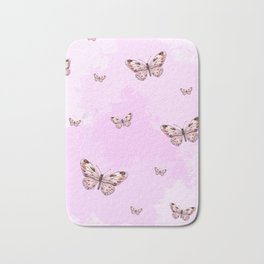 Butterflies II Bath Mat
