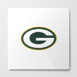Packers Logo of Green Bay Metal Print