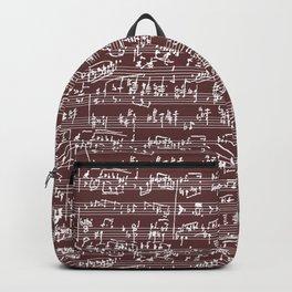 Hand Written Sheet Music // Redwood Backpack