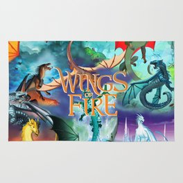 Wings Of Fire Painting Rug