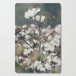 Cotton Field 8 Cutting Board