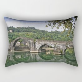 Devil's bridge - Italy Rectangular Pillow