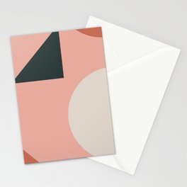 Orbit 02 Modern Geometric Stationery Cards