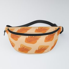 Amber Abstract No.1 Tropical Summer Fanny Pack