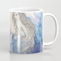 pisces Mugs featuring Pisces by katiwo