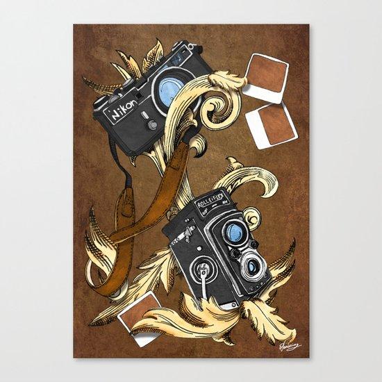 Photographie Pattern Canvas Print